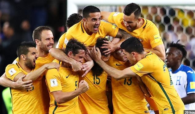 Piala Dunia 2018 : Australia