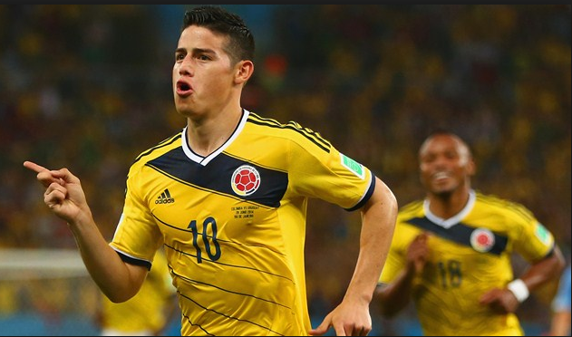 Piala Dunia 2018 : Kolumbia